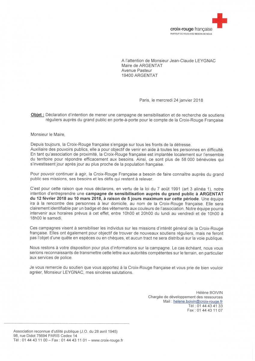 Information Croix Rouge Francaise Argentat Sur Dordogne Site